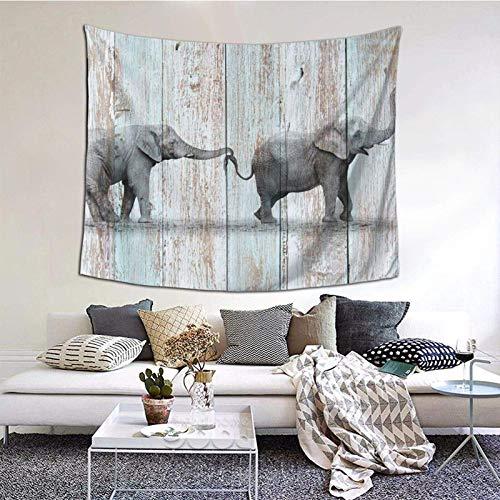 Indie - Tapiz para dormitorio, estético, para sala de estar, dormitorio, dormitorio, decoración de dormitorio, patrón de moda, 150 x 152 cm