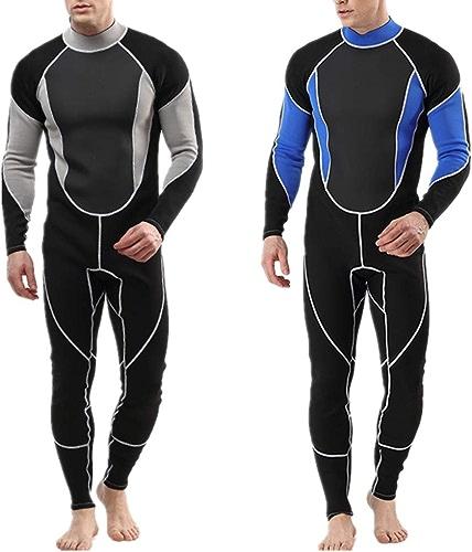 Costume de plongée pour hommes Combinaison de longueur complète en néoprène de première qualité pour les hommes surfant, plongée en apnée, plongée sous-marine pour la plongée sous-marine plongée sous-
