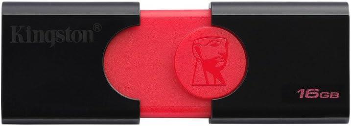 Kingston DT106/16GB USB 3.0 DataTraveler 106 Flash Drive Type-A USB Memory Stick backwards compatible with 2.0 USB