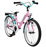 Bikestar | Bicicleta Infantil 20 Pulgadas | Color Rosa | A Partir de 6 años | 20' Clásico Edition 2018