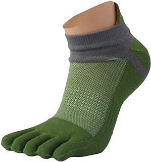 Calcetines cinco dedos hombre 1 pares, malla Deportes Cinco calcetines del dedo del pie