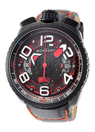 Bomberg Herren-Armbanduhr Bolt-68 Chronograph Datum Analog Automatik BS47CHAPBA.041-1.3