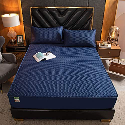 Xiaomizi -Sábanas, cama doble, colchón antiarrugas súper suave, 200X200+28cm (2.6kg)