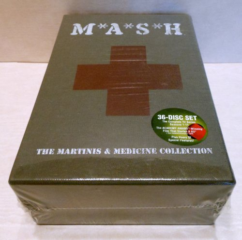 M*A*S*H - Martinis and Medicine Complete DVD Collection / Brand New & Sealed