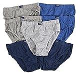 Neuf enfants filles garçons 7Paires Lot de 100% coton Slip Sous-vêtement pour enfant Taille 2–8ans - - 5-6 ans