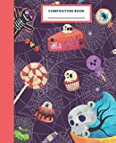 Halloween Cookbook Composition Notebook: Halloween cooking   Halloween recipes cookbook   Halloween Notebook for kids and adults   100 Wide Ruled ... Halloween candy notebook, Food Notebook, Cute