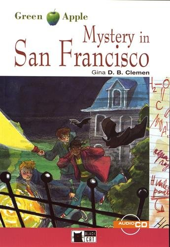 Green Apple: Mystery in San Francisco + audio CD [Lingua inglese]: Mystery in San Francisco + audio CD + App