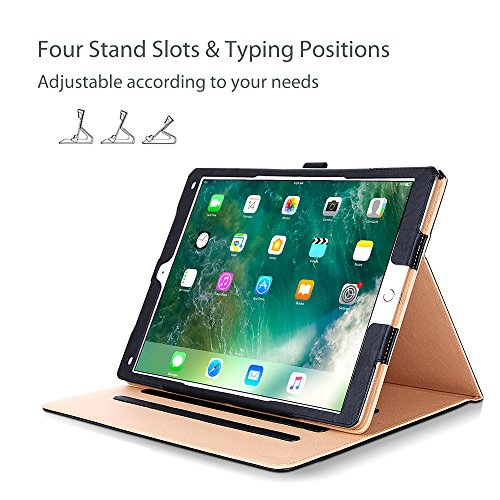 ProCase Leder Stand Folio Hülle für 2017 Apple iPad Pro 12.9 Zoll A1670, A1671 und 2015 iPad Pro 12.9
