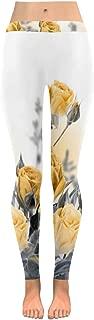 InterestPrint Custom Halloween Stretchy Capri Leggings Skinny Pants for Yoga Running Pilates Gym(2XS-5XL)