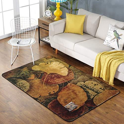 YAN Rug Nordic Rug, Teppich Wohnzimmer Rustikale Teppich, Moderne Schlafzimmer Teppichboden, Sofa Rechteckige Bettwäsche,100 * 150 cm,BBB