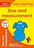 Size and Measurement: Ages 3-5: Ideal for Home Learning (Collins Easy Learning Preschool)