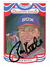 ron kittle autograph