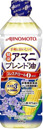 Jオイル 味の素 健康アマニブレンド油 ボトル600g [9696]