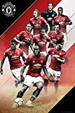 GB Eye Poster Manchester United, Players 17/18, 61 x 91,5