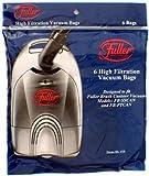 Fuller Brush Canister Vacuum Bags, 06.155 6 pack by Fuller Brush Vacuum Cleaners