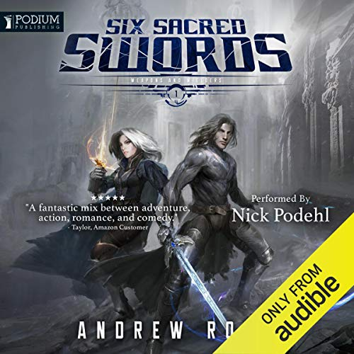 Six Sacred Swords audiobook cover art