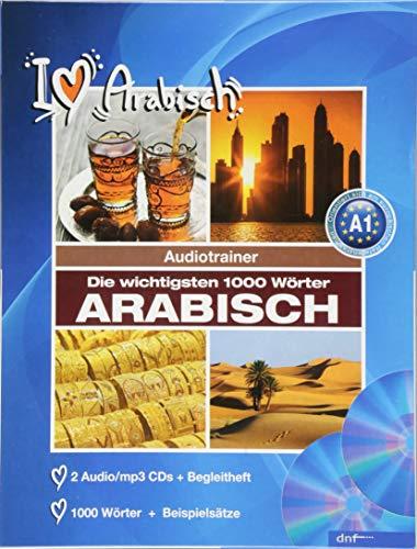 Audiotrainer 1000 Wörter Arabisch: 3 Audio/mp3-CDs + Begleitheft