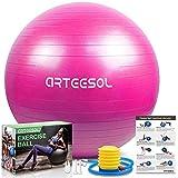 arteesol Ballon Fitness, Swiss Ball Ballon d'exercice Balle de Fitness de...