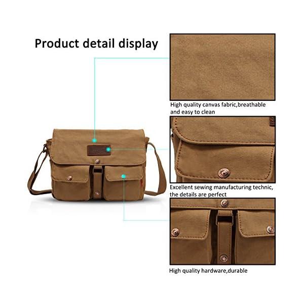 51gQa62oP+L. SS600  - FANDARE Messenger Bag Crossbody Bolso Bandolera Shoulder Bag Portátil Estudiante Viaje Trabajo Escuela Bolsa Mensajero…