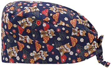 قبعة عمل لطيفة قابلة للتعديل بمقاس واحد مع عصابة رأس وأزرار للرجال والنساء - HD