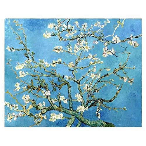 Legendarte Cuadro Lienzo, Impresión Digital - Almendro En Flor Vincent Van Gogh, cm. 80x110 - Decoración Pared