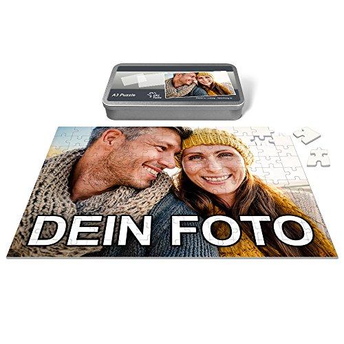 PhotoFancy® - Puzzle mit eigenem Foto Bedrucken Lassen (192 Teile (A3))