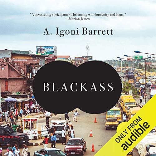 Blackass audiobook cover art