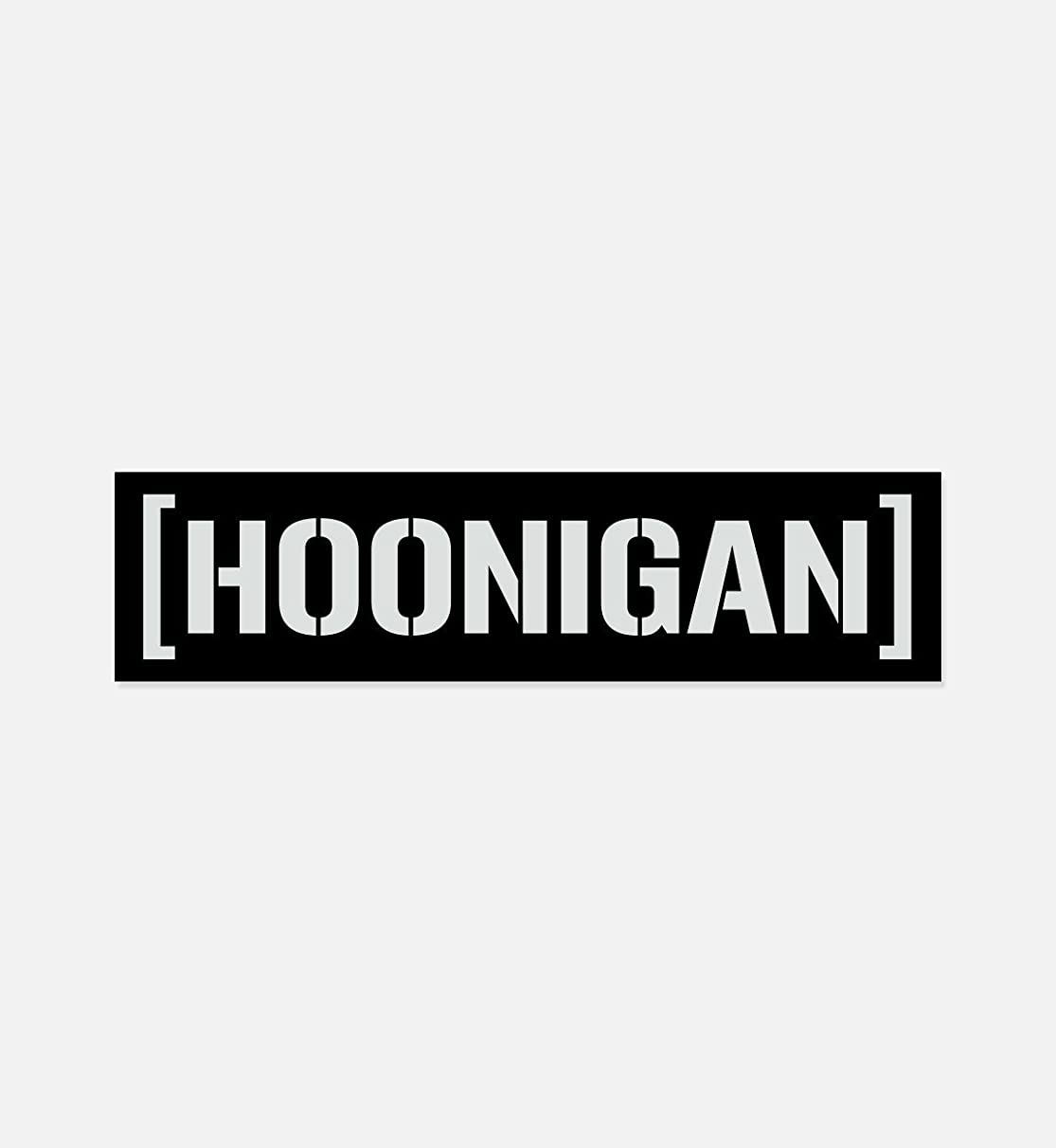 """Hoonigan Censor Bar Premium Vinyl Sticker 