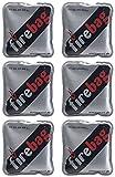 firebag Wärmebeutel: 6er-Set Taschenwärmer warme Hände, wiederverwendbar...