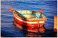 新しいJSCTWCL手漕ぎボートパズル500ピース木製大人のジグソーパズルカラー抽象絵画パズル子供のための教育玩具ギフト