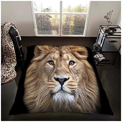 GC GAVENO CAVAILIA Hochwertiger 3D-Tier-Überwurf, super weiches Kunstfell-Fleece-Decke, Polyester, Mehrfarbig, 200 x 240 cm
