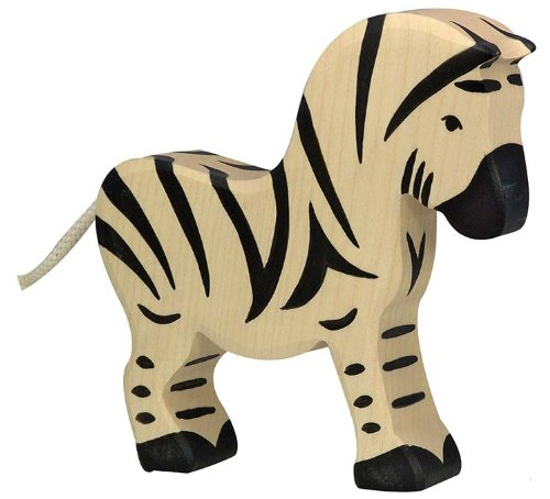 Holztiger Zebra of Wood Toy Figure