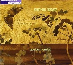 Ropartz: String Quartet No.1 in G minor / Fantaisie Brève sur un thème unique sur le nom d'Albéric Magnard