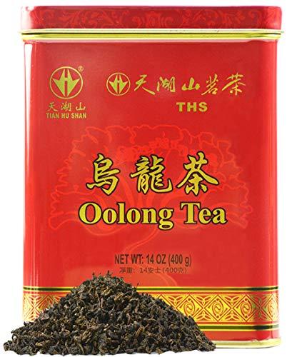 TIAN HU SHAN Premium Oolong Tea Loose Leaf 14 Ounce (400g),100% Detox Tea,Weight Loss Tea,Slimming Tea