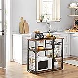 Zoom IMG-1 vasagle mobile da cucina salvaspazio