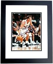Dan Majerle Signed - Autographed Miami Heat 8x10 inch Photo BLACK CUSTOM FRAME