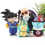Yvonnezhang Estatuilla Dragon Ball Son Goku Gohan Uranai Baba Maestro Roshi Puar Pilaf Chiaotzu PVC ...