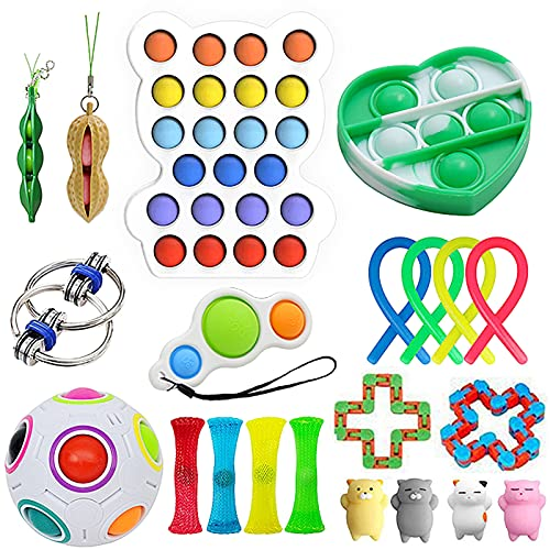 imple dimple fidgets toys set pack with pop its dinosaur cheap bubble sensory autism puzzle stress balls marble mesh fidget squishy toys for kids adultsa dhd anxiety relief mochis squishies pack
