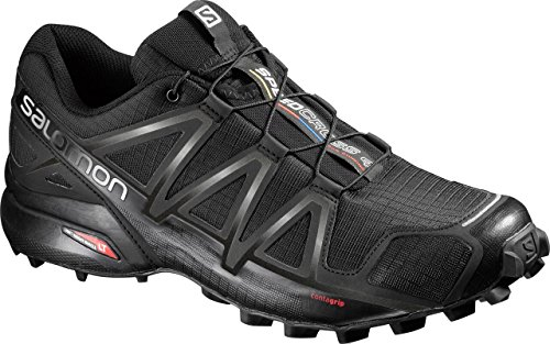 Salomon Speedcross 4, Zapatillas de Trail Running para Hombre, Negro...