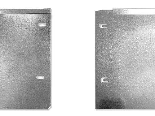 Lust Ideen aus Blech Rasenkante Beeteinfassung Beetkante Set 8 x 118 x 20 cm …