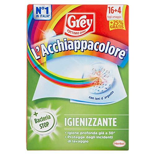 Grey Ga0971400 L'Acchiappacolore Igienizzante, 16+4 Fogli