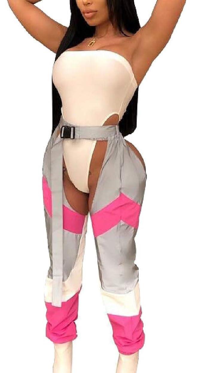 自治本質的ではないマーカー女性2ピース衣装は、トップとロングパンツジャンプスーツセット