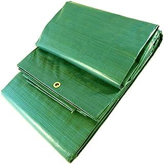 WURKO 303155 - Toldo rafia 4x5 verde con ollaos