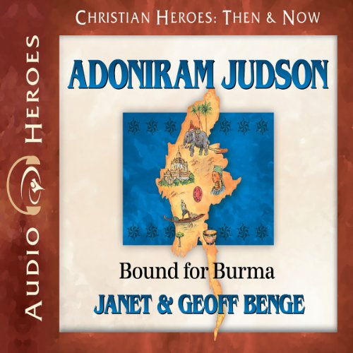 Adoniram Judson audiobook cover art