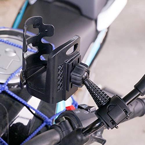 bozitian Motorrad Getränkehalter Universal 360 Grad Drehung Tasse Flasche Halter Für Kinderwagen Kinderwagen Fahrrad Rollstuhl Motorrad