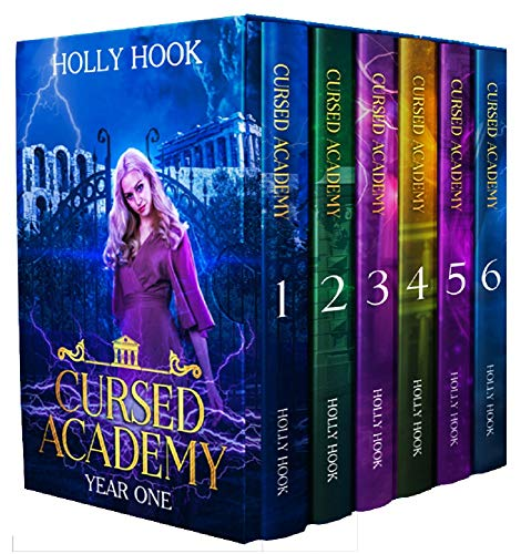 The Cursed Academy Complete Series Boxset [Books 1-6]: A Young Adult Supernatural Academy Series