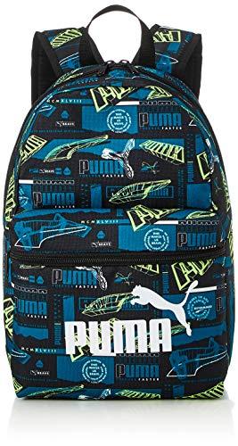 PUMA Phase Small Backpack Rucksack, Digi-Blue-Boys AOP, OSFA