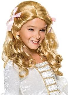 Rubie's Gracious Princess Child's Costume Wig, Blonde