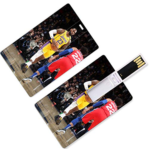 Unidades USB Flash Thumb Drives Jugador Nacional de Baloncesto Forma de Tarjeta de Crédito Asociación Playoffs Finales Allstar Super Star Milk The Time Away Equipo local U Disk Memory Stick Storage Se