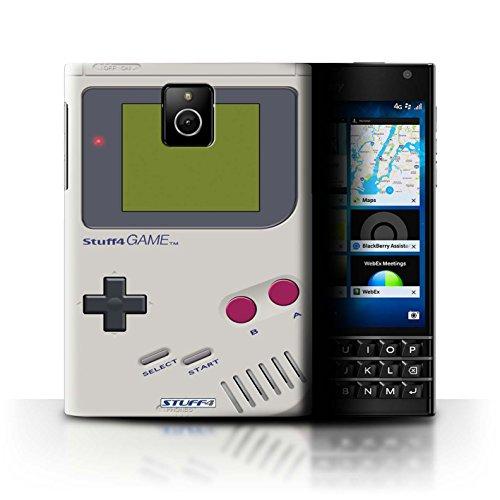 Hülle Für BlackBerry Passport Spielkonsolen Nintendo Game Boy Design Transparent Ultra Dünn Klar Hart Schutz Handyhülle Case